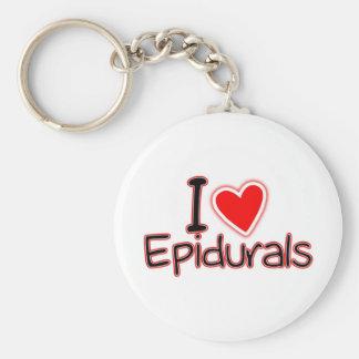 おもしろいな母性I愛Epidurals キーホルダー