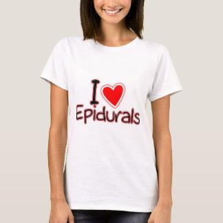 おもしろいな母性I愛Epidurals Tシャツ