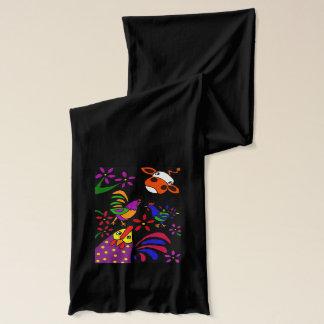 おもしろいな民芸の家畜のスカーフ スカーフ