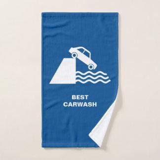 おもしろいな洗車の印 バスタオルセット