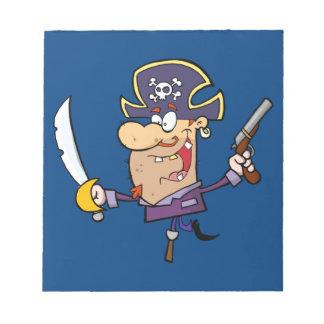 おもしろいな海賊 ノートパッド