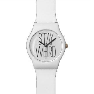 おもしろいな滞在の風変わりで感動的な傾向のヒップスターのユーモア 腕時計