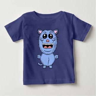 おもしろいな漫画の青猫のワイシャツ ベビーTシャツ