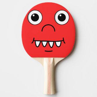 おもしろいな漫画の顔 卓球ラケット