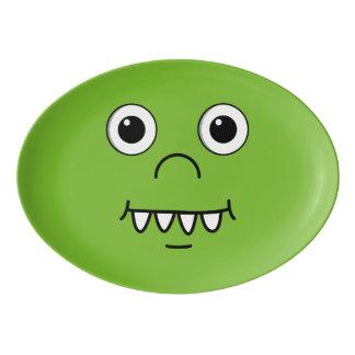 おもしろいな漫画の顔 磁器大皿