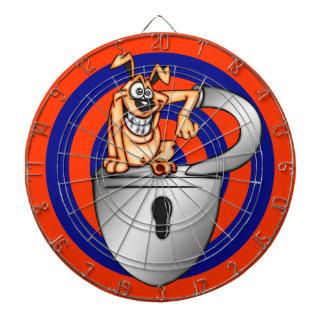 おもしろいな漫画犬のダート盤 ダーツボード