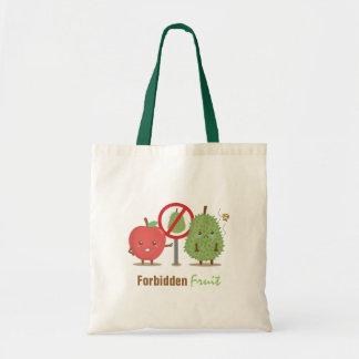 おもしろいな漫画、禁止されたフルーツ、Appleおよびドリアン トートバッグ