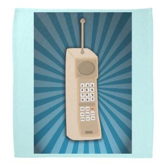 おもしろいな煉瓦携帯電話 バンダナ
