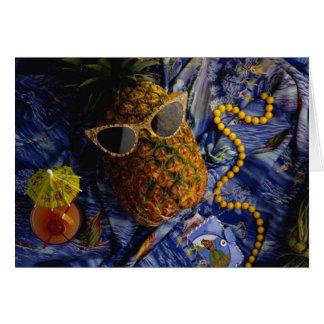 おもしろいな熱帯クールなパイナップル カード