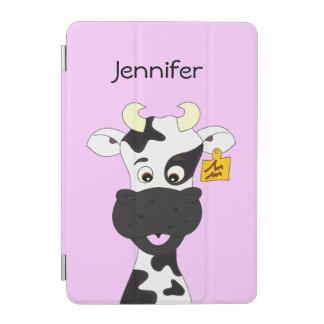 おもしろいな牛漫画の女の子 iPad MINIカバー