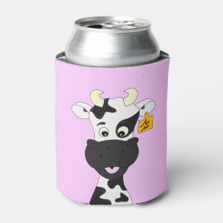 おもしろいな牛漫画の子供 缶クーラー