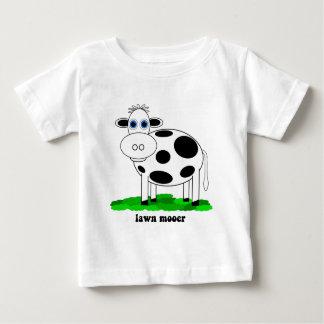 おもしろいな牛 ベビーTシャツ