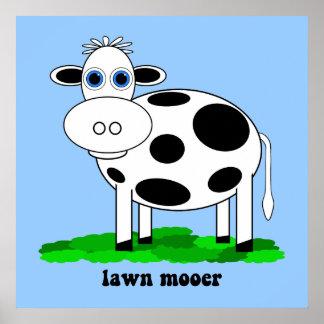 おもしろいな牛 ポスター