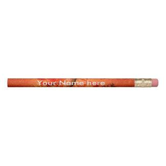 おもしろいな猫のキリン 鉛筆