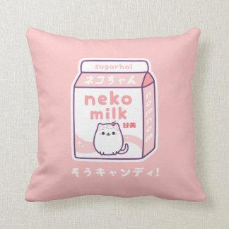 おもしろいな猫のミルク クッション