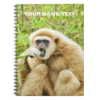 おもしろいな猿の動物の名前入りな名前 ノートブック