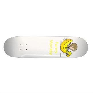 おもしろいな猿 カスタムスケートボード