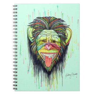 おもしろいな猿 ノートブック