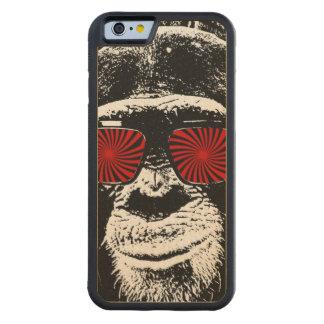 おもしろいな猿 CarvedメープルiPhone 6バンパーケース