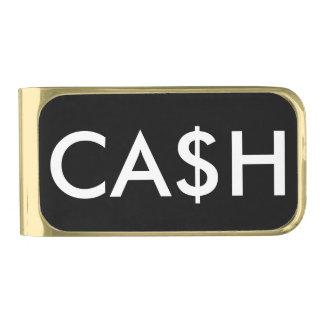 おもしろいな現金ドル記号 ゴールド マネークリップ