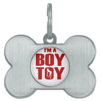 おもしろいな男の子のおもちゃ ペットネームタグ