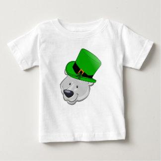 おもしろいな白くまのワイシャツ- St pattys dayのギフト ベビーTシャツ