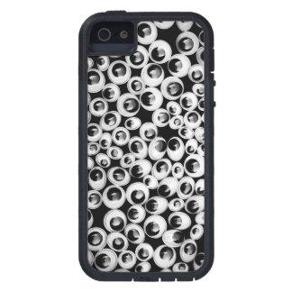 おもしろいな目の背景 iPhone 5 ケース