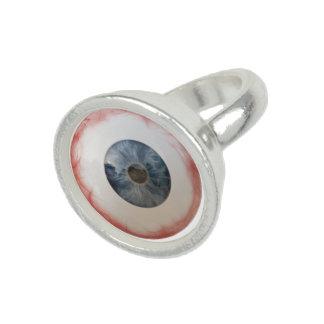 おもしろいな眼球のリング 指輪