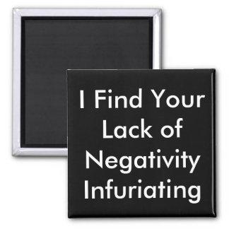 おもしろいな磁石を激怒させる否定性の欠乏 マグネット
