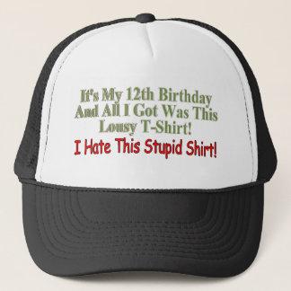 おもしろいな第12誕生日プレゼント キャップ