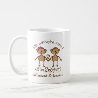 おもしろいな第20結婚記念日彼の彼女の物が襲う コーヒーマグカップ