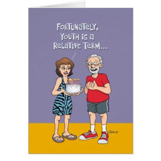 おもしろいな第65誕生日 カード