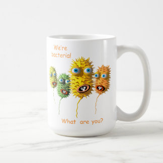 おもしろいな細菌のマグ コーヒーマグカップ