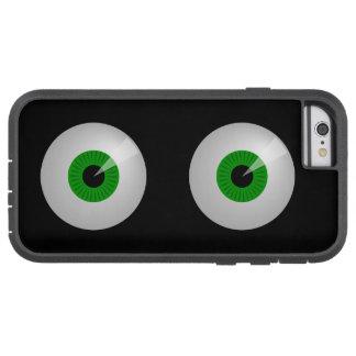 おもしろいな緑モンスターはiPhone 6の場合を注目します Tough Xtreme iPhone 6 ケース