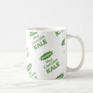 おもしろいな緑葉カンラン コーヒーマグカップ