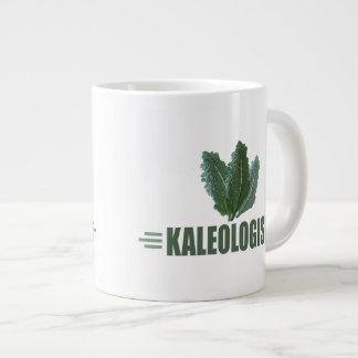 おもしろいな緑葉カンラン ジャンボコーヒーマグカップ