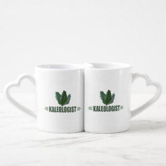 おもしろいな緑葉カンラン ペアカップ