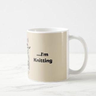 おもしろいな編機械のマグ コーヒーマグカップ