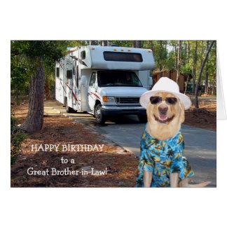 おもしろいな義理の兄弟の誕生日 カード