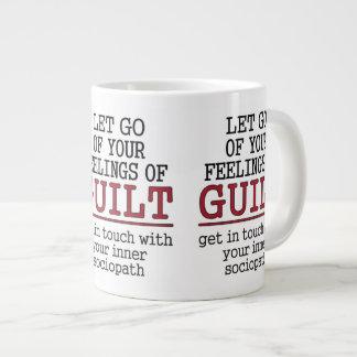 おもしろいな自己認識のマグ ジャンボコーヒーマグカップ