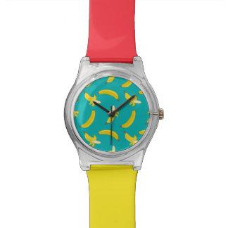 おもしろいな興奮した図解入りの、写真付きのなパターン 腕時計