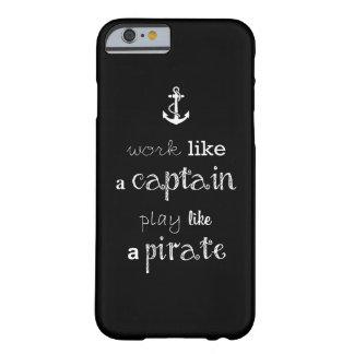 おもしろいな船員の引用文 BARELY THERE iPhone 6 ケース