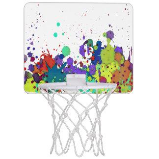 おもしろいな色のしぶきI + あなたのbackgr。 及びアイディア ミニバスケットボールゴール