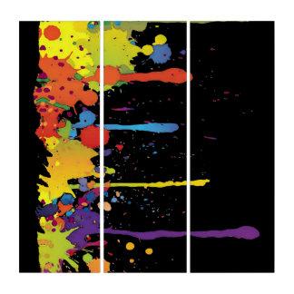 おもしろいな色はIIをはねかけます + あなたのbackgr。 及びアイディア トリプティカ