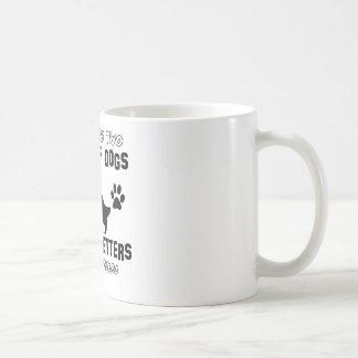 おもしろいな英国セッターのデザイン コーヒーマグカップ