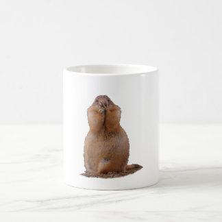 おもしろいな表現のプレーリードッグ コーヒーマグカップ