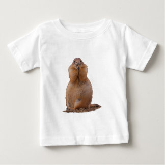 おもしろいな表現のプレーリードッグ ベビーTシャツ