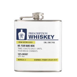 おもしろいな規定のウィスキー フラスク