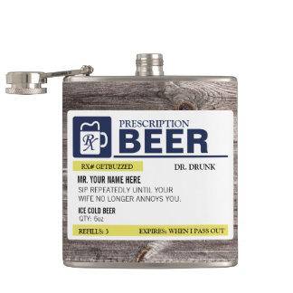 おもしろいな規定ビール フラスク