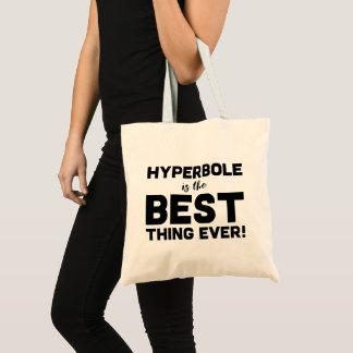 おもしろいな言葉遊びの誇張は印刷ベストです トートバッグ